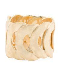Tj Maxx - Metallic Made In Bali 14k Gold Plate Silver Interlocking Circles Ring - Lyst