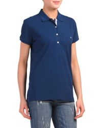 Tj Maxx - Blue Short Sleeve Skipjack Polo - Lyst