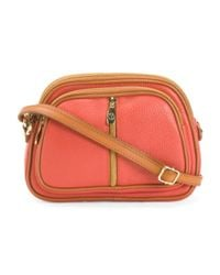 Tj Maxx - Multicolor Made In Italy Leather Crossbody - Lyst