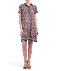 Tj Maxx - Multicolor Printed Jersey Shirt Dress - Lyst