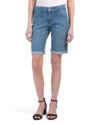 Tj Maxx - Blue Petite Made In Usa Briella Jean Shorts - Lyst
