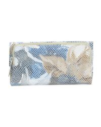 Tj Maxx - Blue Leather Wallet - Lyst