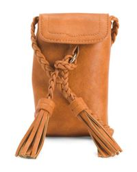 Tj Maxx | Orange Cell Phone Carrier Crossbody | Lyst