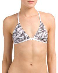 Tj Maxx - White Y Back Bikini Bra - Lyst