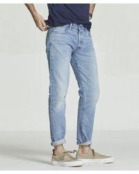 Todd Snyder - Blue Made In L.a. Selvedge Natural Indigo Jean for Men - Lyst