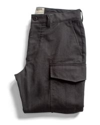 Todd Snyder - Black Officer Cargo Pant for Men - Lyst