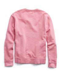 Hartford - Red Sweat Feeling Groovy Sweatshirt for Men - Lyst