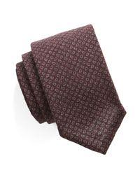 Todd Snyder - Purple Mini Paisley Silk/wool Tie for Men - Lyst