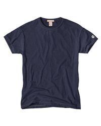 Todd Snyder | Champion Classic T-shirt In Mast Blue for Men | Lyst
