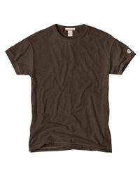 Todd Snyder - Classic Crew T-shirt In Earth Brown for Men - Lyst