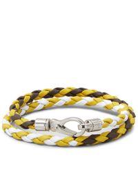 Tod's - Multicolor Mycolors Bracelet In Leather for Men - Lyst