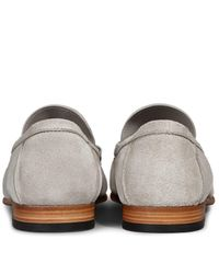 Tod's - Natural Loafers In Suede for Men - Lyst