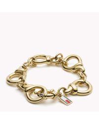 Tommy Hilfiger | Metallic Link Bracelet | Lyst