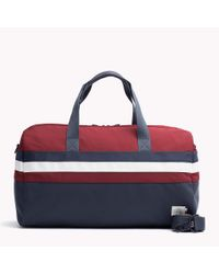 Tommy Hilfiger | Red Retro Duffle Bag for Men | Lyst