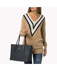 Tommy Hilfiger - Brown Tote Bag - Lyst