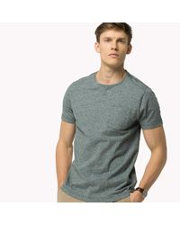 Tommy Hilfiger - Gray Regular Fit T-shirt for Men - Lyst