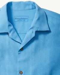 Tommy Bahama - Blue Original Fit Coca Colada Camp Shirt for Men - Lyst