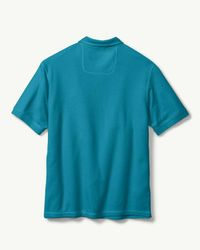 Tommy Bahama - Blue Tropicool Islandzone® Piqué Polo for Men - Lyst