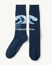 Tommy Bahama - Blue Daily Dose Of Vitamin Sea Socks for Men - Lyst