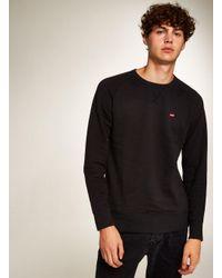 Topman - Black Levi's Icon Sweatshirt for Men - Lyst