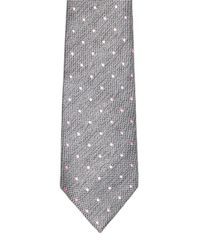 Topman - Gray And Pink Dotted Tie for Men - Lyst