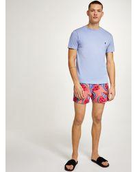 Topman - Pink Melons Swim Short for Men - Lyst