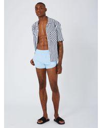 Topman - Imple Clothing Blue Sprinter Short for Men - Lyst