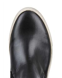 Topman | Black Leather Chukka Boots for Men | Lyst