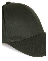 Topman - Green Khaki Curved Peak Cap for Men - Lyst