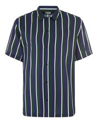 Jaded - Green Stripe Shirt for Men - Lyst