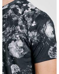 TOPMAN - Criminal Damage Black T-shirt* for Men - Lyst