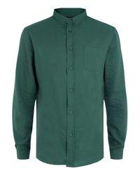 TOPMAN - Globe Green Shirt* for Men - Lyst