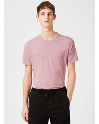 Topman - Purple Slim Fit T-shirt for Men - Lyst