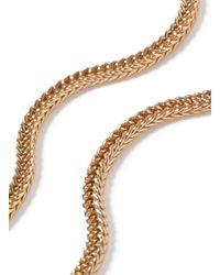 TOPMAN - Metallic Gold Look Chain Necklace* for Men - Lyst