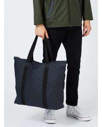 Rains - Rains Blue Tote Bag for Men - Lyst