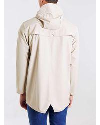 Rains - Natural Sand Short Rain Jacket for Men - Lyst