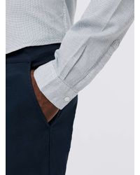 SELECTED - Black Navy Chino Shorts for Men - Lyst