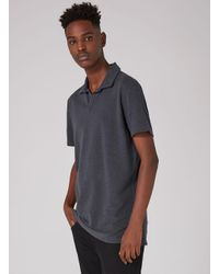 SELECTED - Blue Selected Homme Navy Polo T-shirt for Men - Lyst