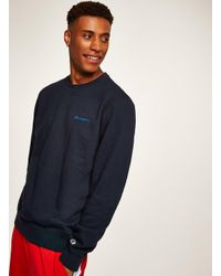 Champion - Blue Navy Sweatshirt for Men - Lyst