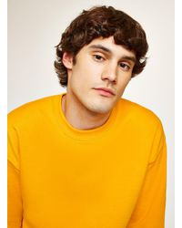 Topman - Yellow Gold Sweatshirt for Men - Lyst