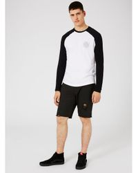 Antioch - Washed Black Raw Edge Sweat Shorts* for Men - Lyst