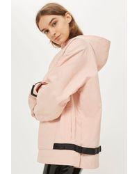Fila - Pink Half Zip Logo Jacket By Fila - Lyst