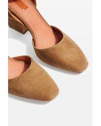 TOPSHOP - Multicolor Grande Mary Jane Shoes - Lyst