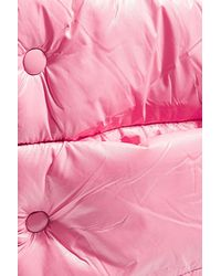 TOPSHOP | Pink Puffer Scarf | Lyst