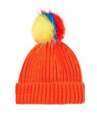 TOPSHOP | Multicolor Multi Pom Beanie | Lyst