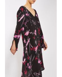 TOPSHOP | Black He Loves Me Asymetric Dress By Boutique | Lyst