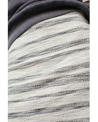 TOPSHOP - White Tall Stripe Boucle Aline Skirt - Lyst