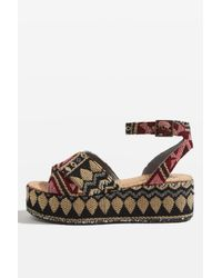 TOPSHOP | Multicolor Whisper Wedges | Lyst