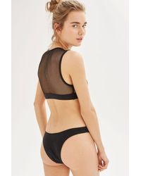 TOPSHOP - Black Bikini Bottoms By Minimale Animale - Lyst
