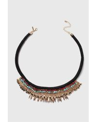 TOPSHOP | Multicolor Beaded Collar | Lyst